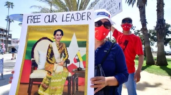تهمة جنائية جديدة لزعيمة ميانمار المعتقلة أونغ سان سو تشي