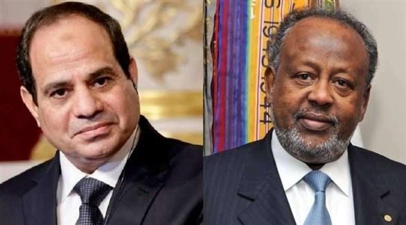 السيسي يناقش ملف سد النهضة مع الرئيس الجيبوتي
