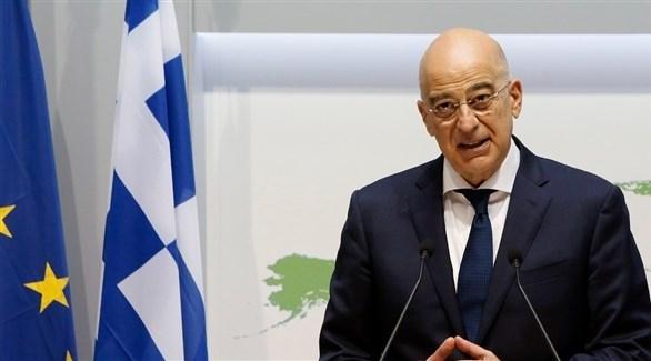 وزير خارجية اليونان يصل القاهرة لبحث تطورات إقليمية