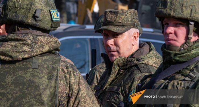 """الجنرال مرادوف:  """"المسؤولون الأرمن يستفزون"""""""