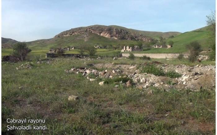 Cəbrayılın Şahvələdli kəndi -