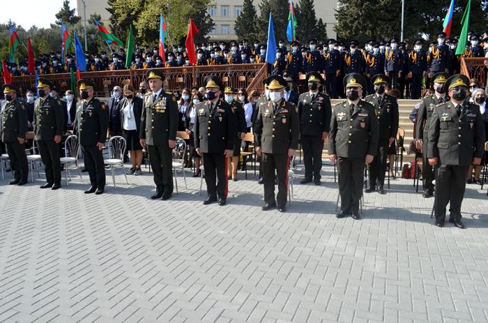 """""""Hərbi liseyin 114 məzunu şəhidlik zirvəsinə ucalıb"""" -  General"""