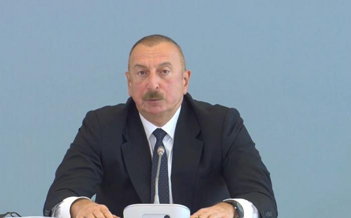 «Si nous retournons dans le couloir de Zangazour, pourquoi ne pas retourner à Erevan» - Président azerbaïdjanais