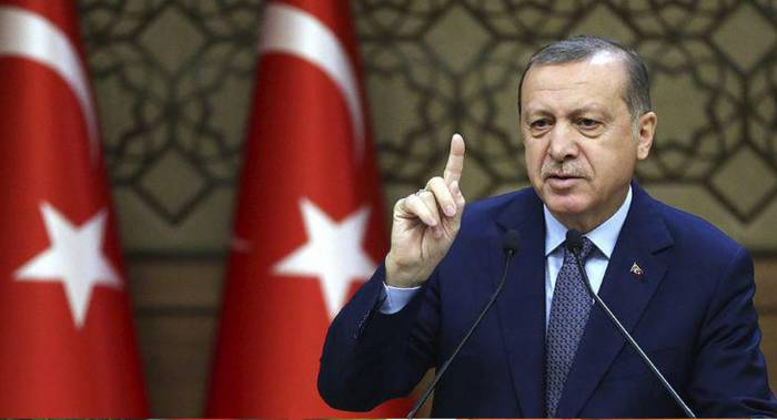"""""""جاويش أوغلو وضع حدودًا للوزير اليوناني"""" -   أردوغان"""