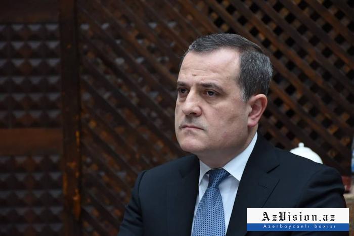 """Ceyhun Bayramov:   """"Faşizmin qəhrəmanlaşdırılmasına yer olmamalıdır"""""""