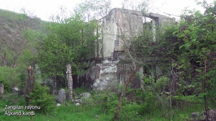 Zəngilanın Ağkənd kəndinin görüntüləri -    VİDEO