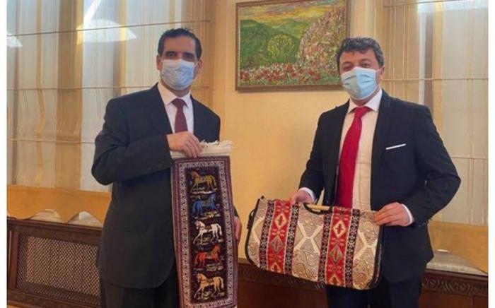 Tural Ganjaliyev meets with Turkish Ambassador