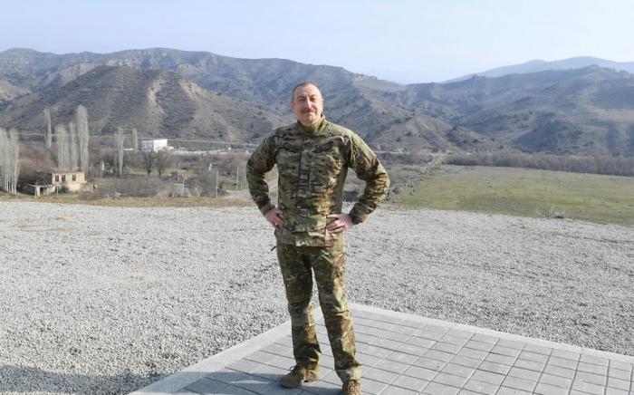 """İlham Əliyev:    """"Zəngilanı cənnətə çevirəcəyik"""" -    VİDEO"""