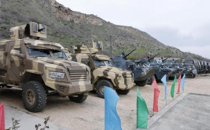 إطلاق وحدة عسكرية جديدة على الحدود مع أرمينيا