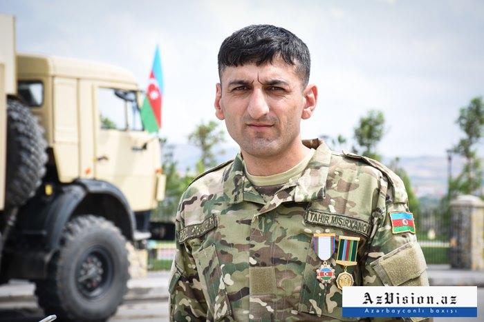 """Düşmənin 20-yə yaxın texnikasını məhv edən """"Tank canavarı"""" -  FOTOLAR"""