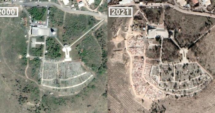 Las imágenes que ponen al desnudo las bajas de los armenios