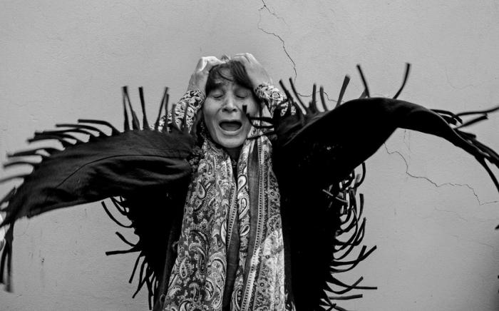 """حصلت هذه الصورة ، التي التقطت في غانجا ، على لقب """"أفضل صورة إعلامية للعام"""" في تركيا"""
