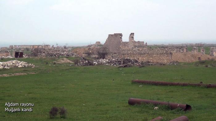 Ağdamın Muğanlı kəndinin görüntüləri -    VİDEO