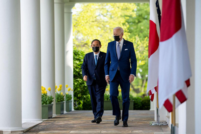 Washington et Tokyo vont faire face «ensemble» aux «défis» posés par Pékin, selon Biden