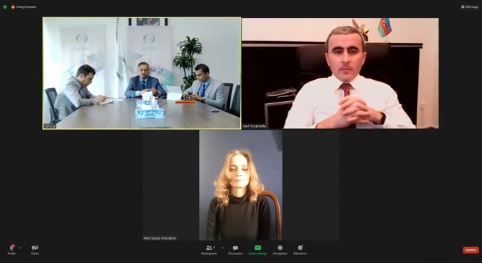 بحث الخطط التنفيذية لبرامج التعاون بين الإيسيسكو وأذربيجان في العلوم والتكنولوجيا