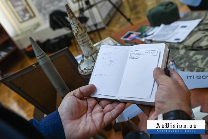 Şəhidlərimizin şəxsi əşyalarının qorunduğu muzey -  REPORTAJ (VİDEO+FOTOLAR)
