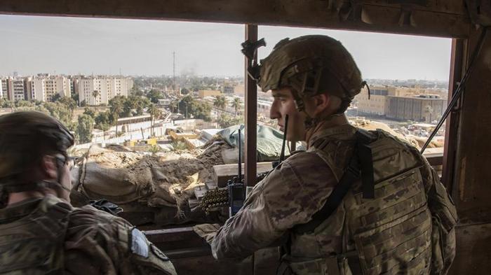 ABŞ-ın Bağdaddakı hərbi bazası atəşə tutulub