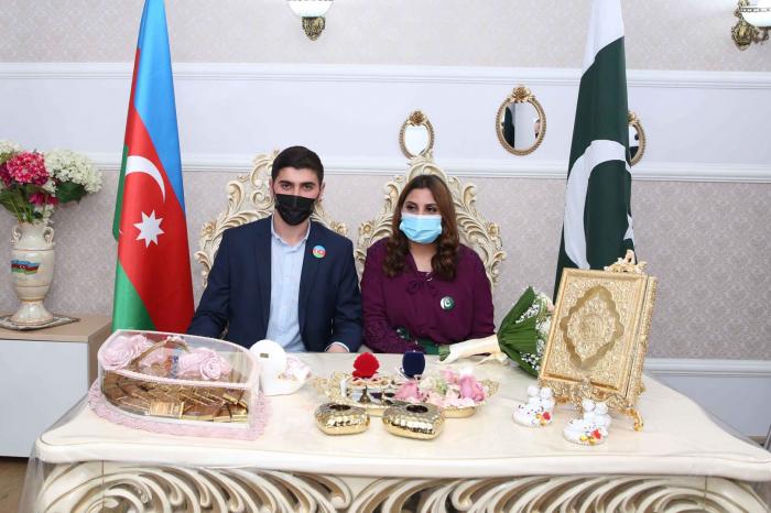 Azərbaycanlı gənc pakistanlı qızla ailə qurdu -    FOTOLAR