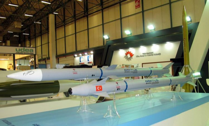 La Turquieteste avec succès le missile Bozdogan