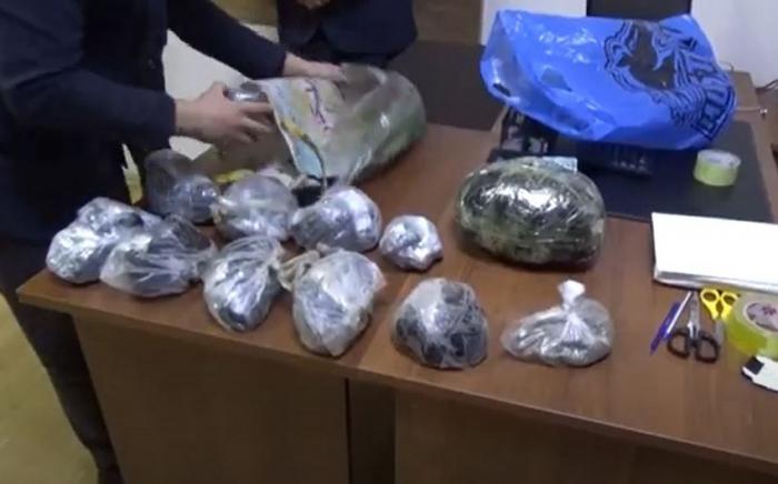 Polisdən 68 kq-lıq narkotik əməliyyatı -    VİDEO