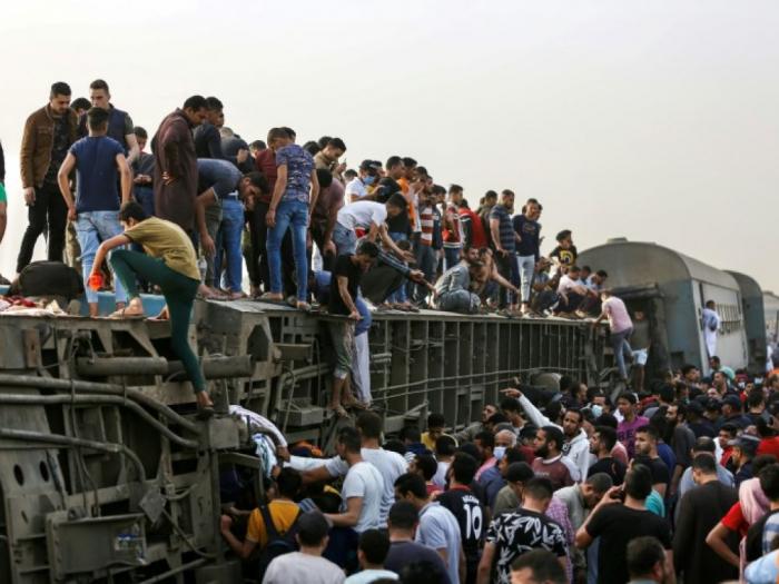 11 personnes mortes, près de 100 blessées dans un nouvel accident de train en Egypte