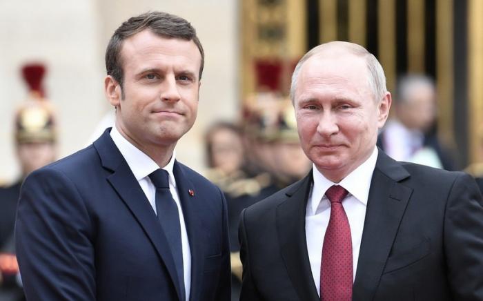 Makron Putinlə danışıqlar aparmaq istəyir