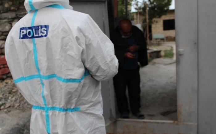 Polis Şəki və Oğuzda koronavirus xəstələrini saxladı