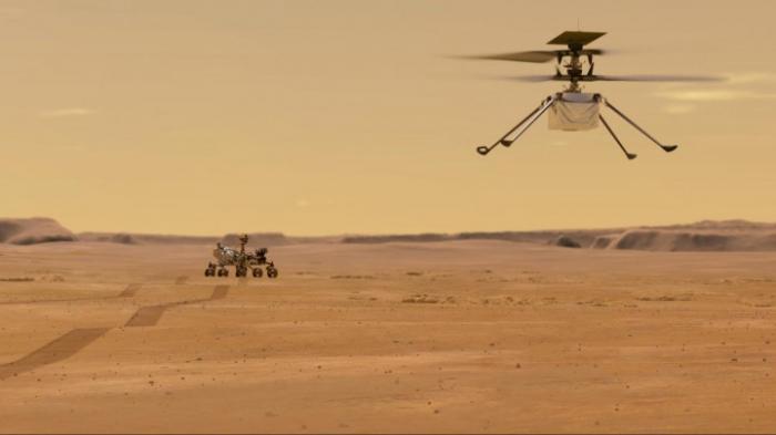 """Nasa-Hubschrauber """"Ingenuity"""" soll mit Verspätung auf dem Mars abheben"""