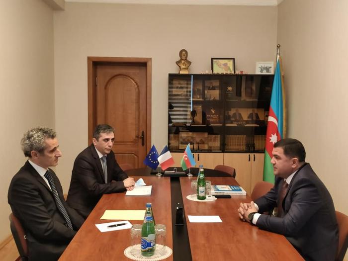 Les relations entre le Nakhitchevan et la France ont été discutées