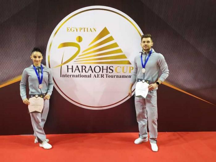 Azerbaijani gymnastics team captures silver in Egypt