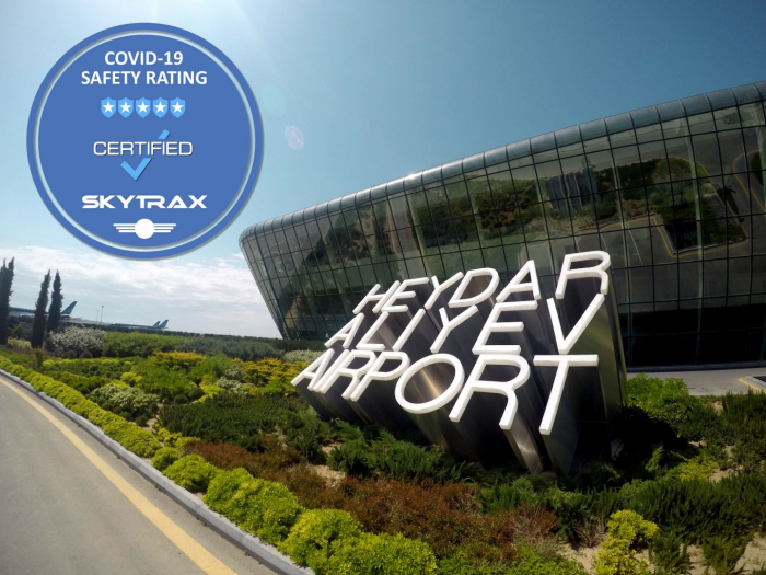 Baku Heydar Aliyev Airport gains 5-Star COVID-19 Airport Safety Rating