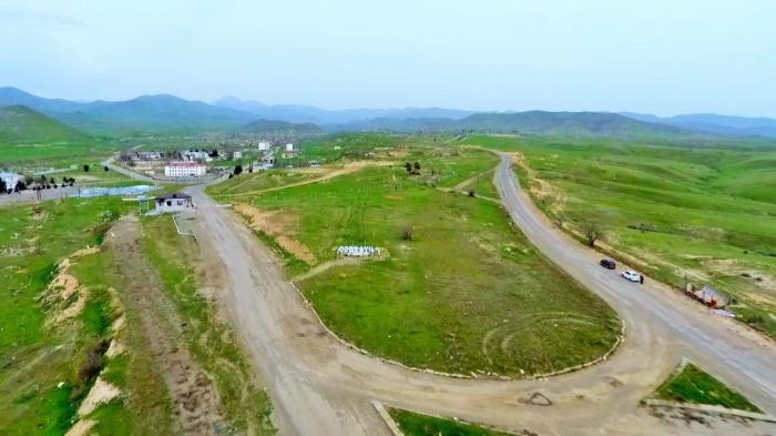 Construction of Hadrut-Jabrayil-Shukurbayli highway continues in Azerbaijan