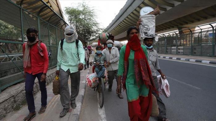 Hindistanda rekord yoluxma qeydə alındı
