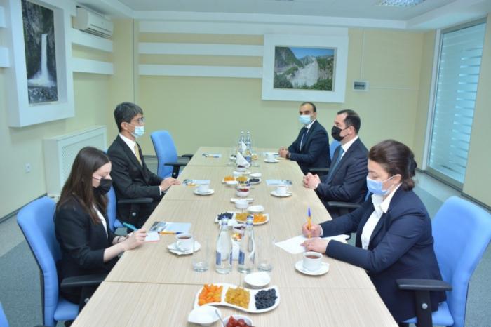 El embajador de Japón en Azerbaiyán visita Shamakhi