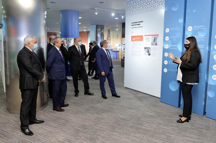 La Compañía Estatal de Petróleo de Azerbaiyán celebra la ceremonia de inauguración del Centro de Visualización