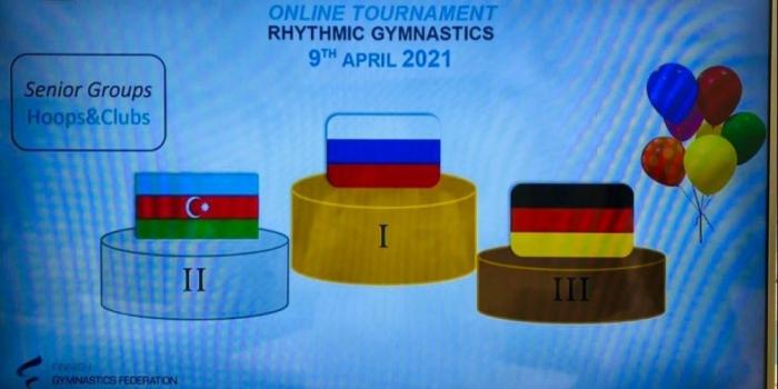 Gimnastas rítmicas azerbaiyanas ocupan el segundo lugar en el torneo organizado por la Federación Finlandesa de Gimnasia