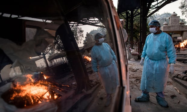 Delhi warns hospitals running out of oxygen amid India's devastating Covid wave