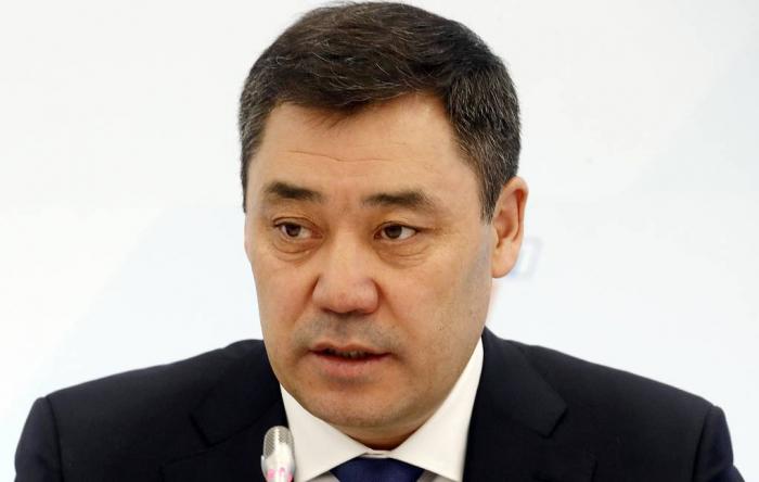 """Sadır Japarov: """"Sərhəddə vəziyyət sabitləşib"""""""