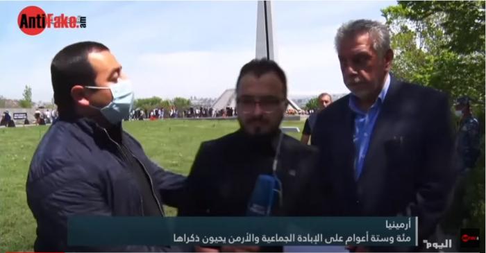 İrəvanda ərəb jurnalistə qarşı kobudluq -  VİDEO