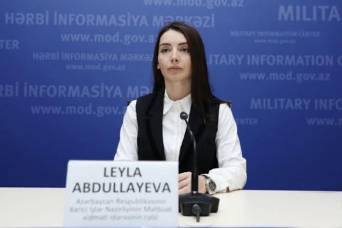 """Cancillería de Azerbaiyán:   """"Armenia vuelve a confundir la historia con la mitología"""""""