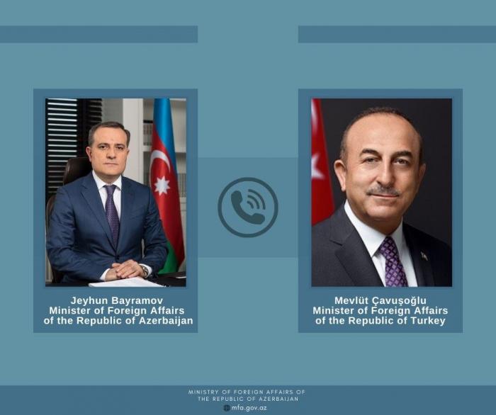 Azerbaijani, Turkish FMs stress inadmissibility of falsifying history
