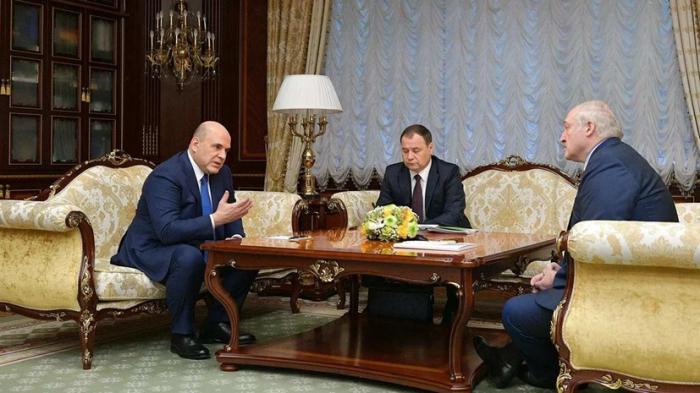 Lukaşenko Mişustinlə görüşüb