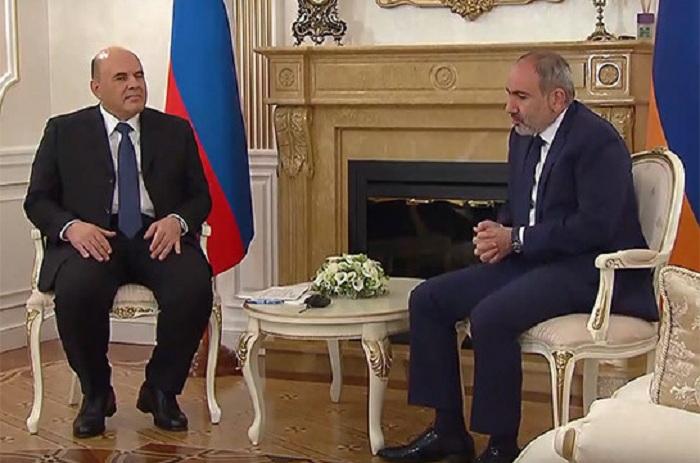 Michoustine a discuté avec Pashinyan de l
