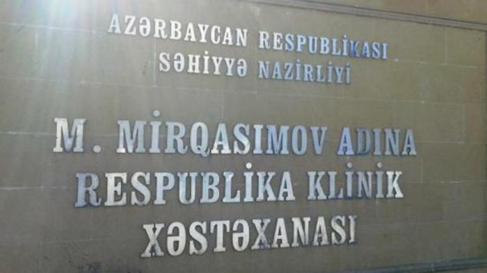 """""""Respublikanski""""nin baş həkimi dəyişdirildi"""