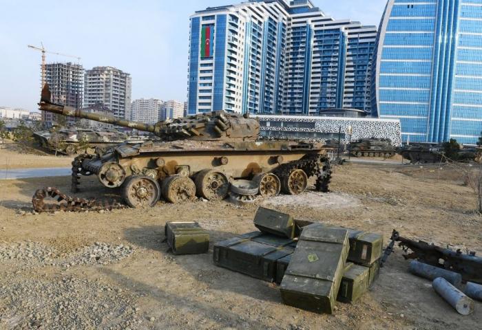 Le Parc des butins de guerre à Bakou sera ouvert au public à partir du 14 avril