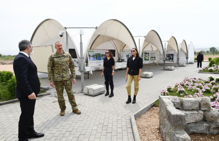 Azerbaijani minister informs President Aliyev about Smart Village project in Zangilan