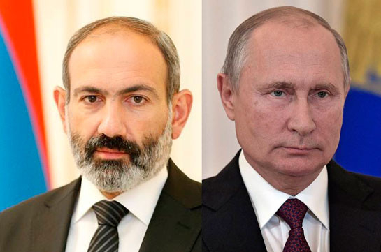 Armenian PM and Russian President to discuss Karabakh