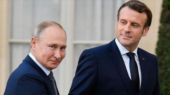 Putin Makronla Qarabağı müzakirə edib