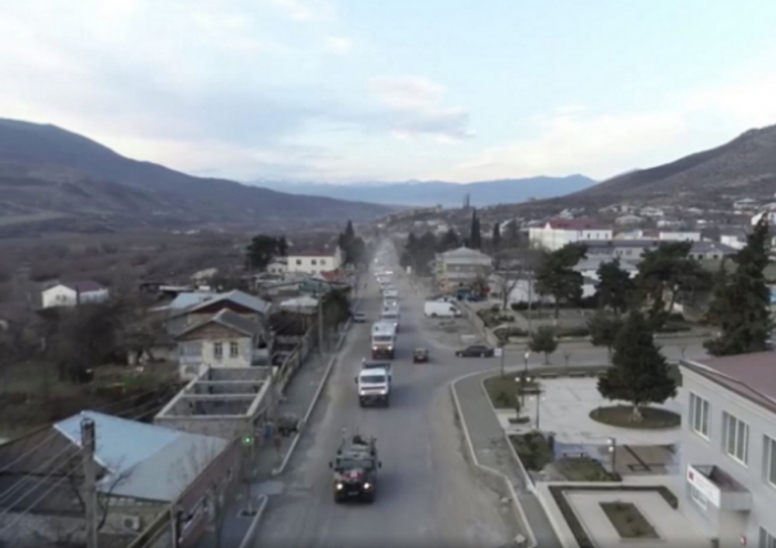 Rusiya MN:  Kəlbəcərə 420 ton humanitar yük çatdırılıb