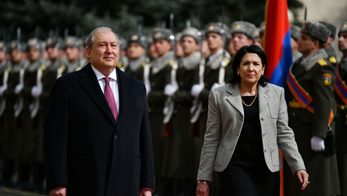 Ermənistan prezidenti Gürcüstana gedir
